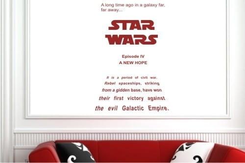 Naklejki Napisy I Cytaty 0259 Star Wars Napisy I Cytaty Nalejki I