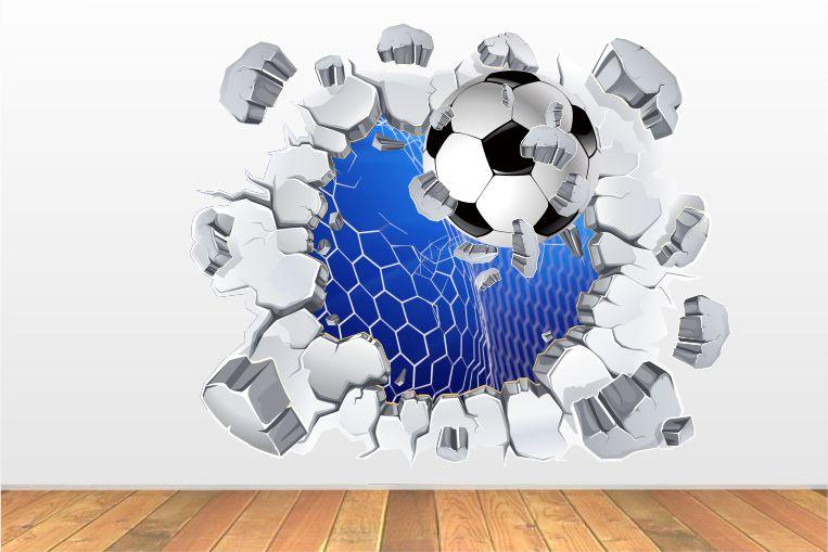 Naklejki Piłka Nożna 3d Piłki Pil1307 Sport Piłka Nożna 3d