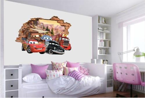 Naklejki Auta Cars 3d 002 Auta Cars 3d Naklejki 3d Fototapety